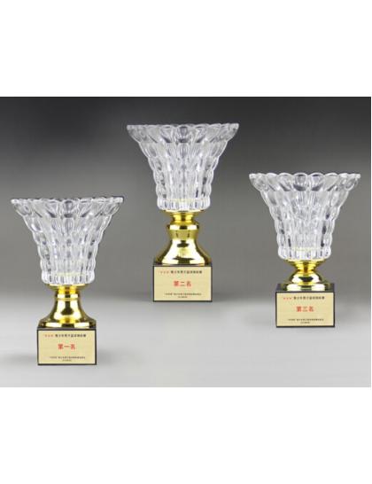獎盃B704(水晶玻璃碗)