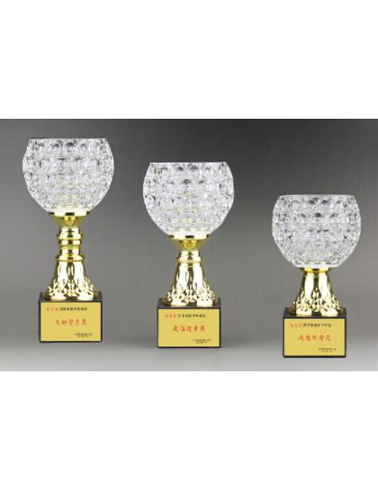 獎盃B727(水晶玻璃碗)
