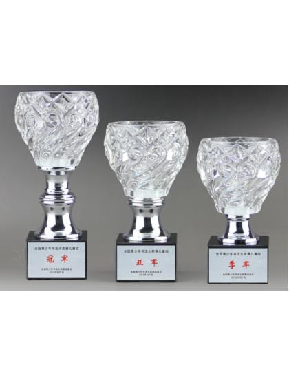 獎盃B729(水晶玻璃碗)