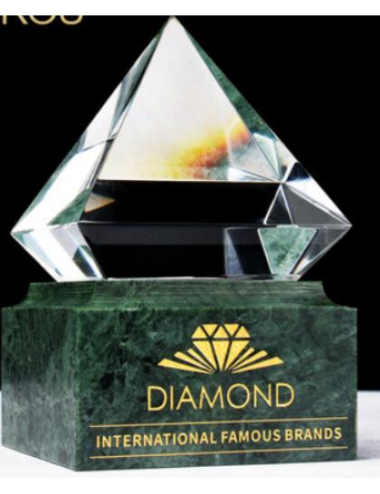 水晶獎座C0022-大理石