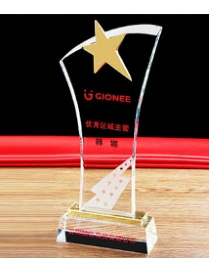 水晶獎座 C0130 - 星星