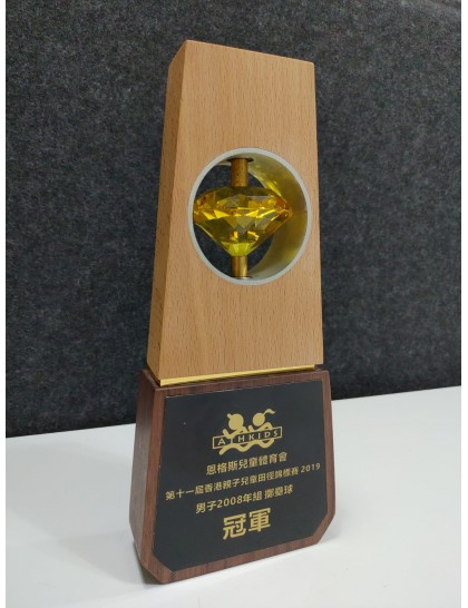 水晶獎座 C0016