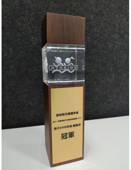 水晶獎座 C0014