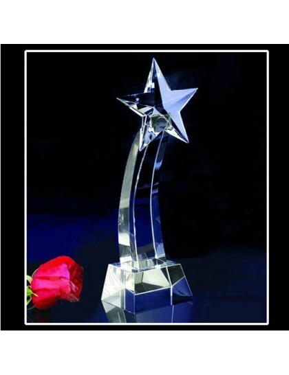 水晶獎座 C0123 - 星星