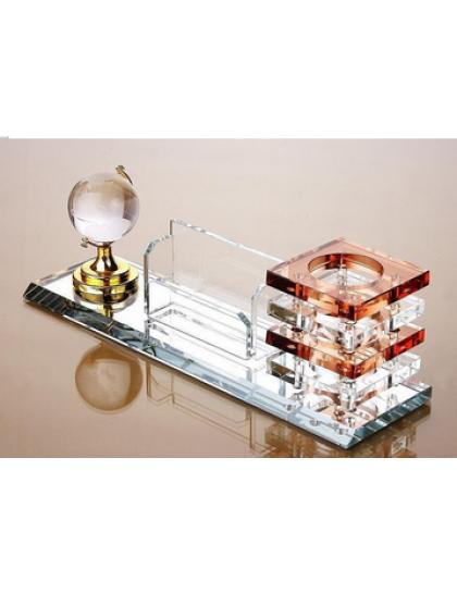水晶文具三件套-地球儀 CP0026