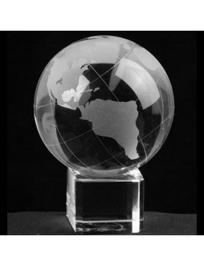水晶地球儀 CP0008