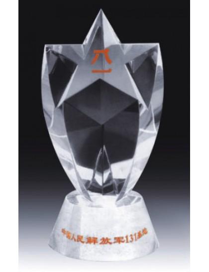 水晶獎座 C0071 - 星星