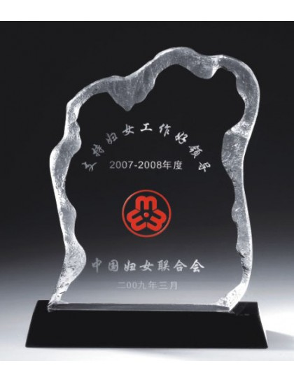 水晶獎座 C0111
